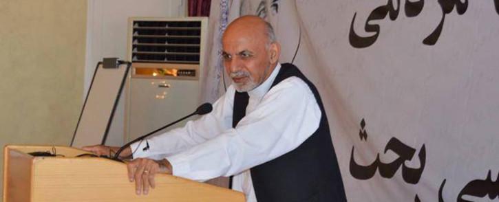 Former Afghan finance minister Ashraf Ghani was named president-elect on 21 September 2014. Picture: Facebook.com.