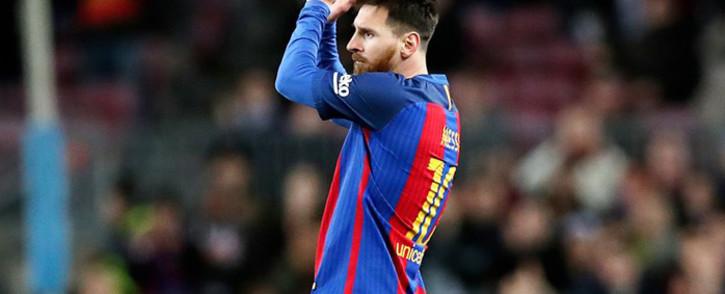 FILE: Barcelona's Lionel Messi. Picture: Facebook.
