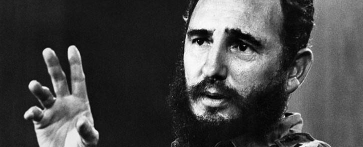 Former Cuban leader Fidel Castro. Picture: AFP