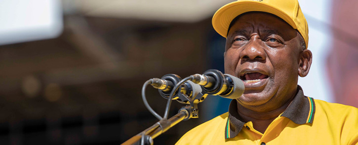 President Cyril Ramaphosa. Picture: Thomas Holder/EWN