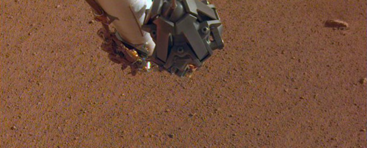The newly named Rolling Stones Rock. Picture: Twitter @NASAInSight
