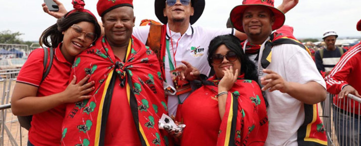 EFF supporters at the party's election manifesto launch at the Giant Stadium in Soshanguve on 2 February 2019. Picture: Abigail Javier/EWN