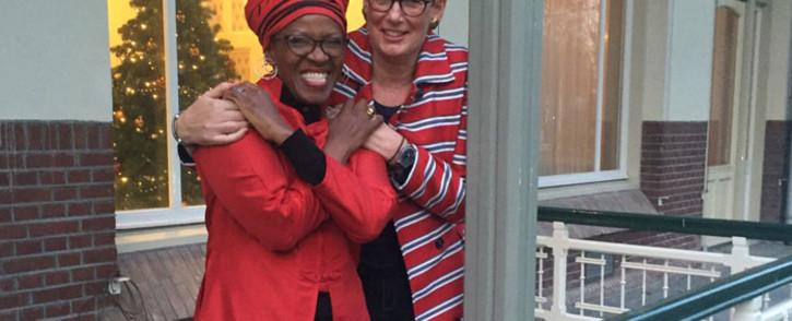 Reverend Canon Mpho Tutu wed Professor Marceline Furth in the Netherlands. Picture: Desmond & Leah Tutu Legacy Foundation.
