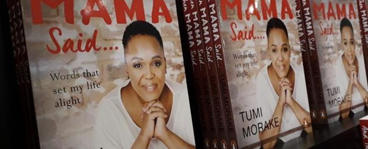 Tumi Morake's 'And Then Mama Said'. Picture: Lungelo Matangira/EWN.