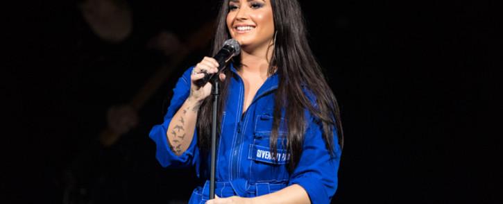 Demi Lovato performs in Dallas in February 2018. Picture: AFP