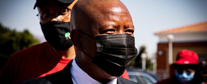EFF leader Julius Malema. Picture: Xanderleigh Dookey/EWN