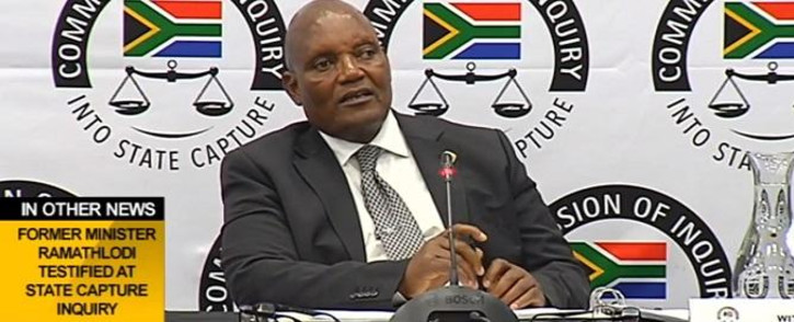 FILE: A screenshot of Mahlodi Muofhe testifying at the Zondo commission inquiry into state capture on 28 November 2018. Picture: Youtube/SABCNews