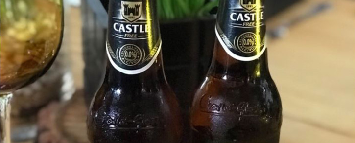The new Castle Free, an alcohol-free beer. Picture: Twitter/@SABreweries