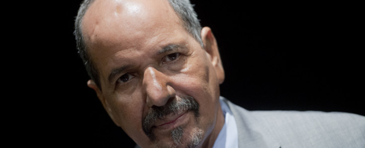 This file photo taken on November 14, 2014 shows Secretary General of the Polisario Front Mohamed Abdelaziz looking on during an interview with AFP in Madrid on 14 November, 2014. Picture: AFP.