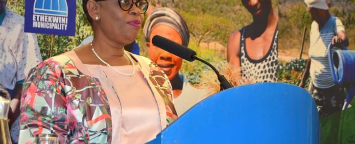 Zandile Gumede. Picture: eThekwini Municipality/Facebook