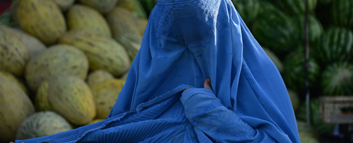 FILE: A woman wearing the burqa. Picture: AFP