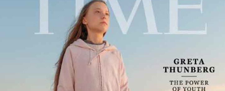 Time magazine named Greta Thunberg its 2019 person of the year. Picture: Twitter/@TIME