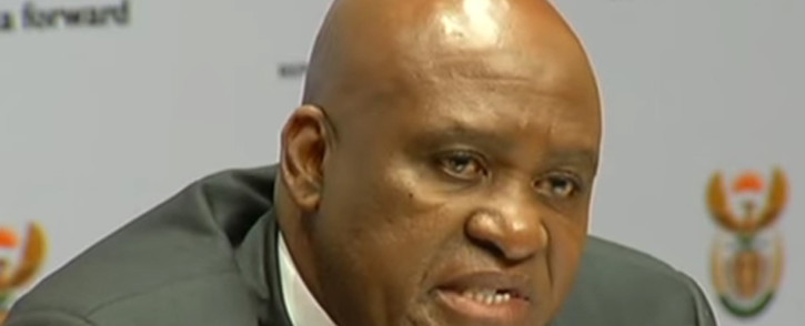 YouTube screengrab of head of the Hawks Berning Ntlemeza.