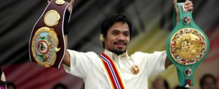 FILE: Boxing champion Manny Pacquiao. Picture: Gallo Images/AFP