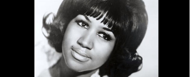 A screengrab of a YouTube video of Aretha Franklin.