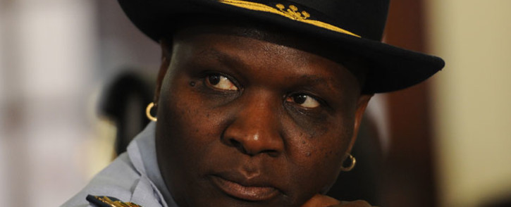 FILE: Riah Phiyega & some top police officials have been accused of pursuing an agenda against Johan Booysen. Picture: Sapa.