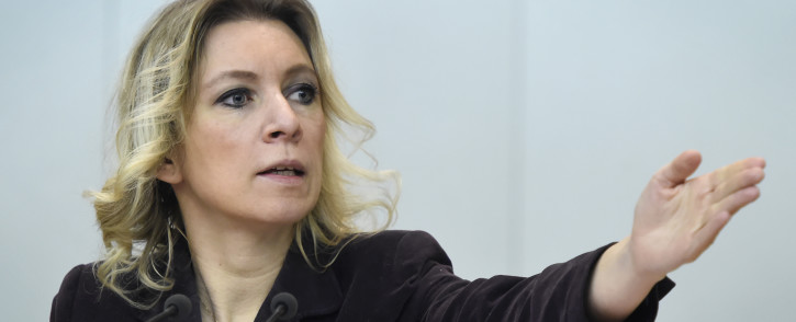 Russian Foreign Ministry spokeswoman Maria Zakharova. Picture: AFP.