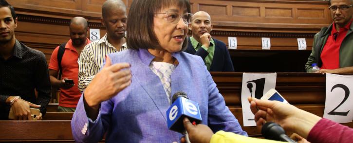 FILE: Cape Town Mayor Patricia de Lille. Picture: Bertram Malgas/EWN