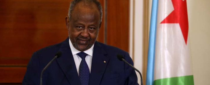 Djibouti president Ismael Omar Guelleh. Picture: AFP.