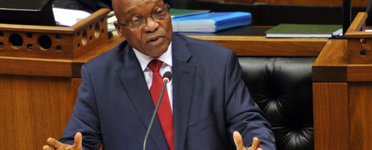 President Jacob Zuma. Picture: GCIS.