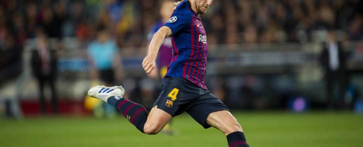 Barcelona's Ivan Rakitic. Picture: @FCBarcelona/Twitter.