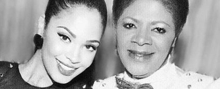Lerato Zah with her mothe legendary actress Candy Moloi. Moloi died on Tuesday, 28 July 2020. Picture: Instagram/@lerato_zah