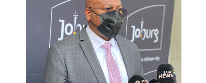 Newly appointed Joburg Mayor Mphoe Moerane. Picture: @mphomoerane/Twitter.