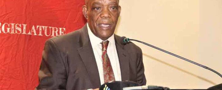 North West Premier Job Mokgoro. Picture: Facebook/ North West Provincial Legislature