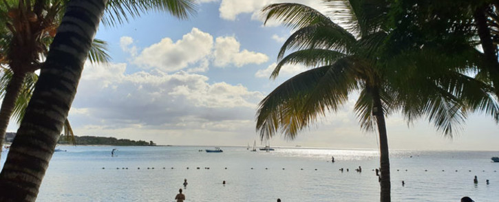 A view of the Balaclava Beach in Mauritius. Picture: Adrian Ephraim/EWN