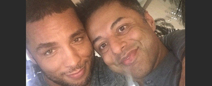 FILE: Shrien Dewani and his partner Gledison Lopez Martins. Picture: @shrien.dewani/Instagram.