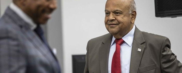 Public Enterprises Minister Pravin Gordhan continues his testimony at the commission of inquiry into state capture on 21 November 2018 held at the Hill on Empire offices. Picture: Abigail Javier/EWN