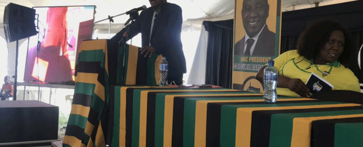 Former President Jacob Zuma in KwaMashu as a part of the ANC KZN election campaigning on 16 November 2018. Picture: Ziyanda Ngcobo/EWN.