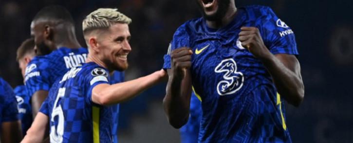 Chelsea's Romelu Lukaku celebrates a goal against Zenit St Petersburg on 14 September 2021. Picture: @ChelseaFC/Twitter.
