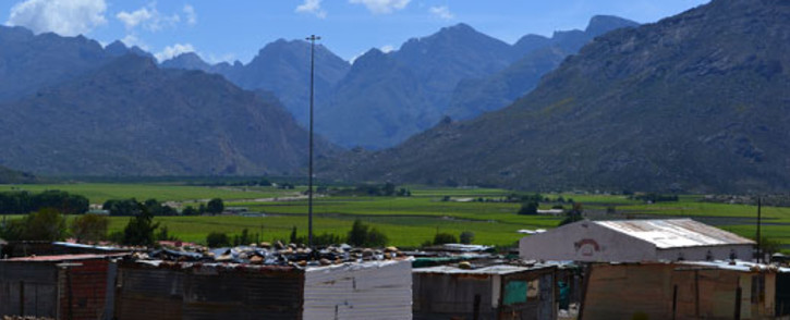 Many farmworkers in the Hex River Valley complain about their living conditions. Picture: Aletta Gardner/EWN