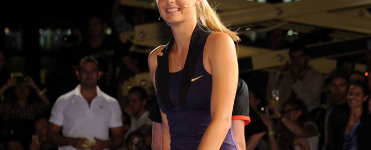 FILE: Maria Sharapova attends the Nike Tennis Primetime Knockout event in August 2010 in New York City. Picture: AFP.