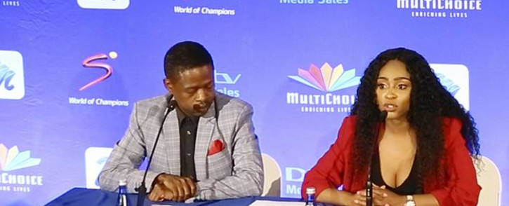 Thokozane Nkosi (L) and Thobile Ngwato (R) are the owners of Newzroom Afrika. Picture: EWN