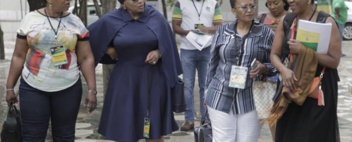 Former ministers Nomvola Mokonyane at the ANC NEC lekgotla on Sunday, 20 January 2020. Picture: Twitter/MyANC