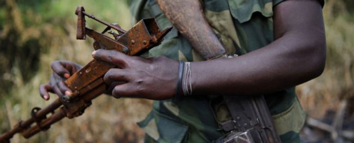 Rwanda rebels in the Democratic Republic of Congo. Picture: AFP.