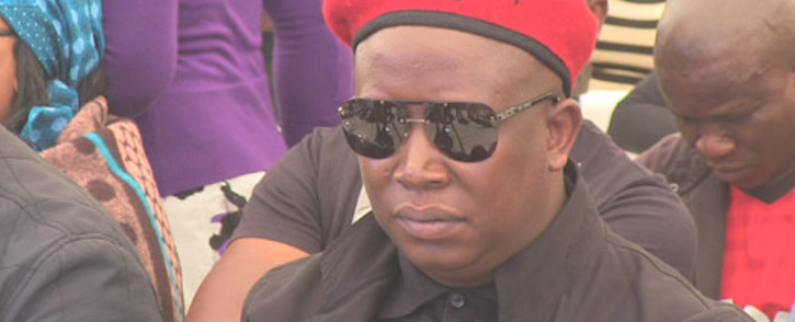 Police say violence escalated after EFF leader Julius Malema endorsed the work stoppage. Picture: Christa Van der Walt/EWN