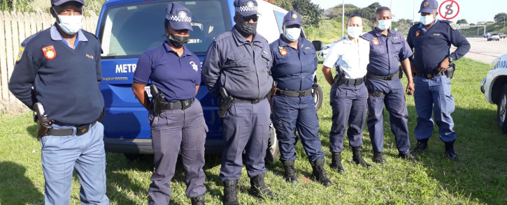 Police deployment in KZN will remain in place to ensure stability and prevent the possible erupting of further violence. Picture: Twitter/@SAPoliceService