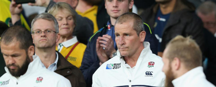 FILE: Stuart Lancaster has admitted he is considering his future as coach after England became the first hosts to fail to make the knock-out stages of the Rugby World Cup in the 28-year history of the tournament. Picture: Rugby World Cup website.