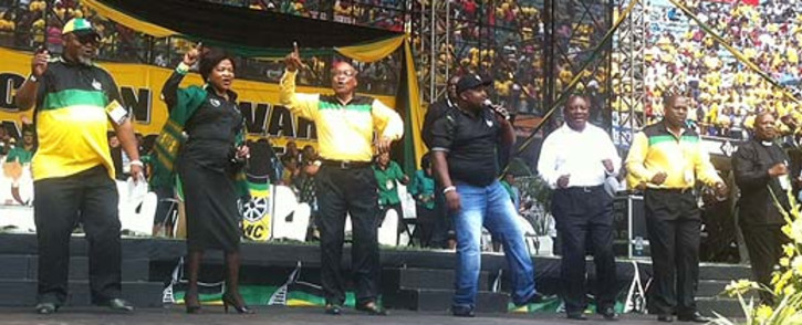 FILE: The president celebrated his 72nd birthday with the ANC's election campaign in Athlone at the weekend. Picture: Sebabatso Neo Mosamo/EWN.