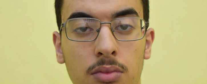 FILE: A handout picture released by Great Manchester Police on 17 March 2020 shows Hashem Abedi, the Manchester-born man who was found guilty of 22 counts of murder, attempted murder and conspiracy to cause explosions, over the 2017 Manchester Arena suicide bomb attack carried out by his brother Salman Abedi. Picture: AFP