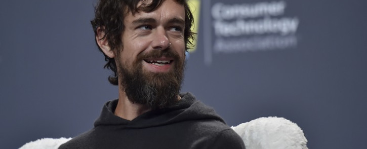 Twitter CEO Jack Dorsey speaks during a press event at CES 2019 at the Aria Resort & Casino on 9 January 2019 in Las Vegas, Nevada. Picture: AFP