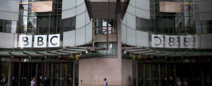 Staff and visitors walk outside the headquarters of the British Broadcasting Corporation (BBC) in central London on July 19, 2017. Britain's public broadcaster BBC came under fire on Wednesday for its gender pay imbalance after it was forced to reveal how much it pays its top-earning talent. Picture: AFP