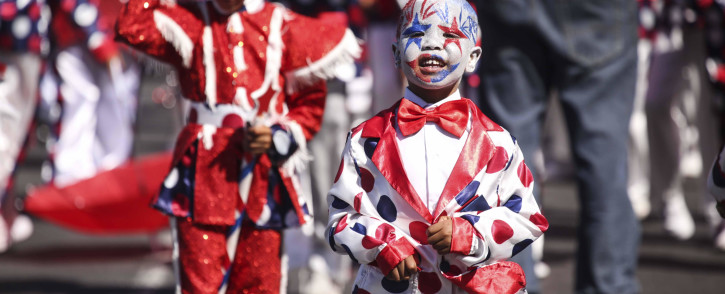 FILE: A member of the JBE troupe at the Tweede Nuwe Jaar carnival. Picture: Cindy Archillies