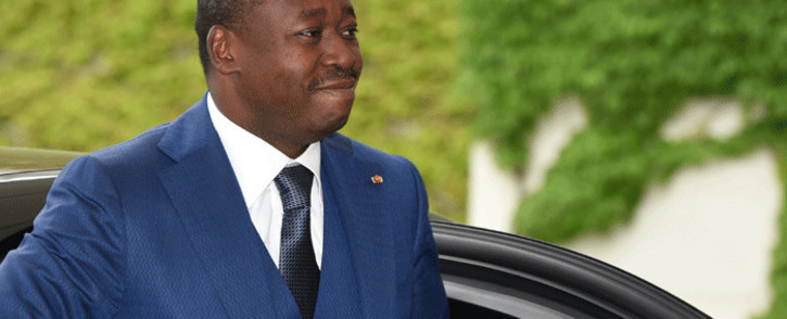FILE: President Faure Gnassingbe. Picture: AFP
