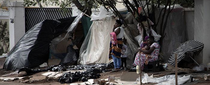 FILE: Refugee occupied the UNCHR building in Pretoria to demand that they be assisted to leave the country following attacks on foreign nationals in 2019. Picture: Xanderleigh Dookey/EWN.