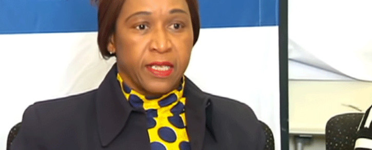 Commission for Gender Equality deputy chair Tamara Mathebula. Picture: YouTube screengrab.