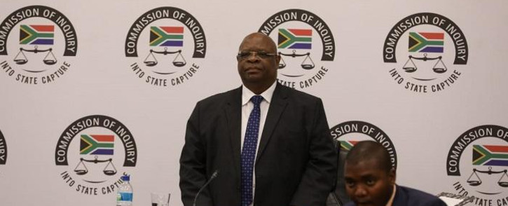 FILE: Deputy Chief Justice Raymond Zondo at the state capture inquiry on Tuesday, 8 October 2019. Picture: Kayleen Morgan/EWN